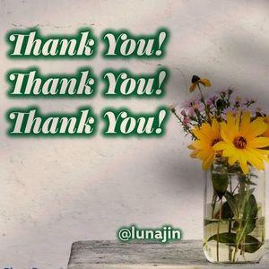 Thank you! Thank you! Thank you! @Lunajin